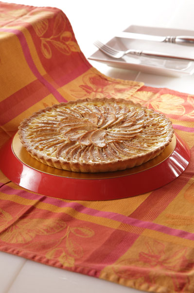 Spanish Creamy Apple Tart